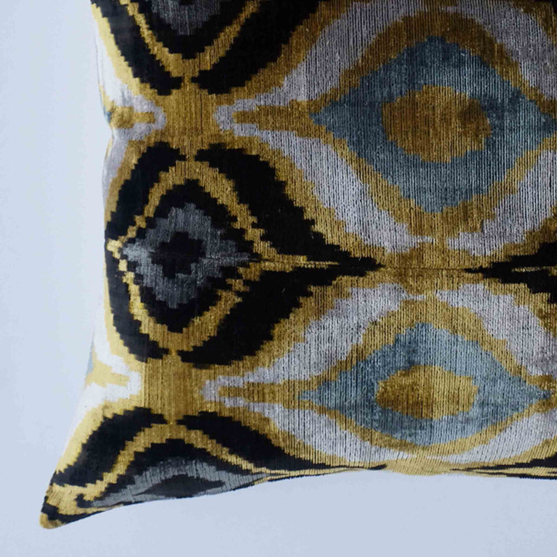 Lione Silk Ikat Pillow