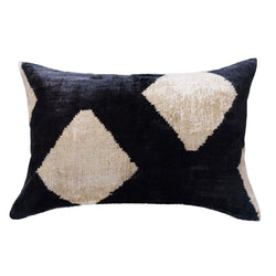 Navo Silk Ikat Lumbar Pillow