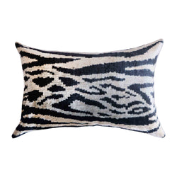 Rahi Silk Ikat Lumbar Pillow