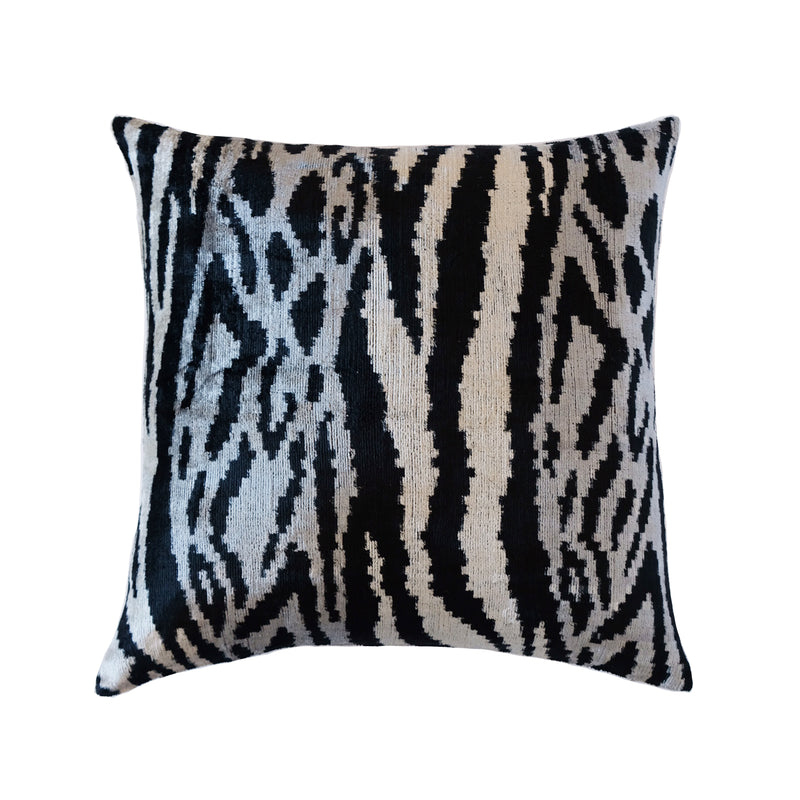 Rahi Silk Ikat Pillow