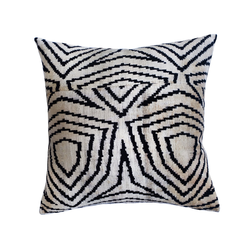 Willow Silk Ikat Pillow