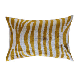 Zilli Silk Ikat Lumbar Pillow