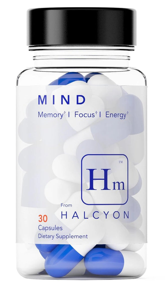 Halcyon MIND | Extra Strength Nootropic | Extended Release Formula