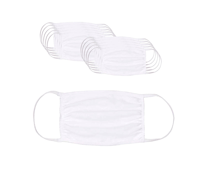 Reusable Cotton Face Mask (10 Units) - State and Federal Poster