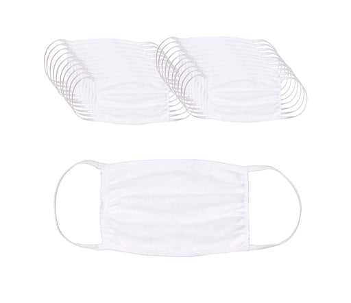 Reusable Cotton Face Mask (20 Units) - State and Federal Poster