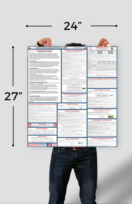 Alabama State Labor Law Poster 2021