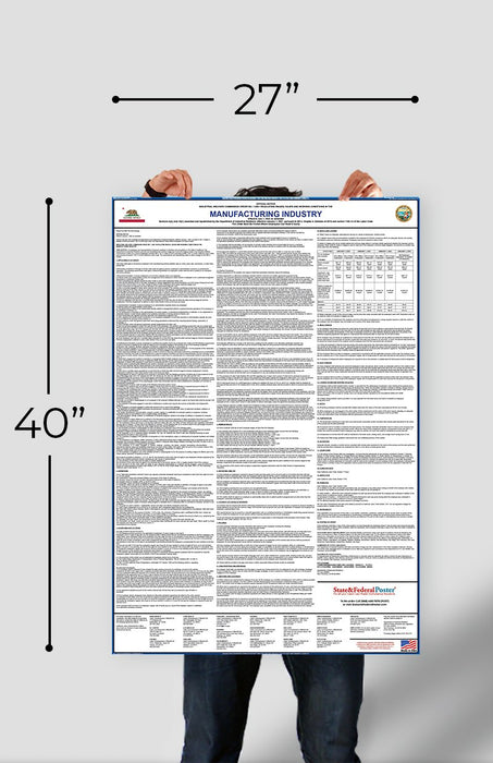 IWC 4 - Professional, Technical, Clerical, Mechanical, etc - State and Federal Poster