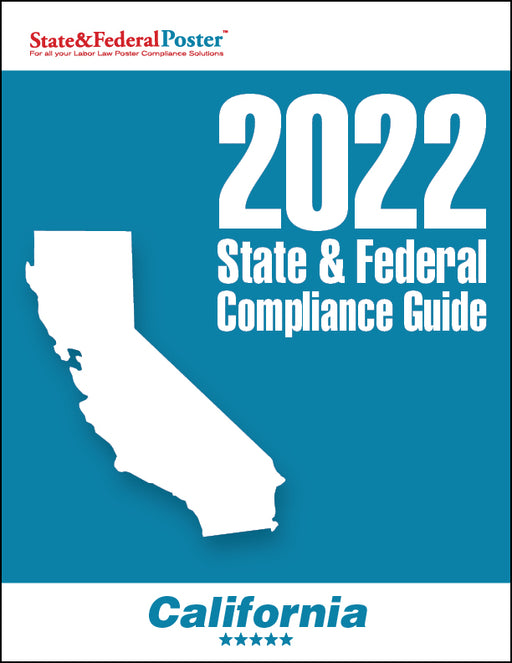 2020 California State & Federal Compliance Guide - State and Federal Poster