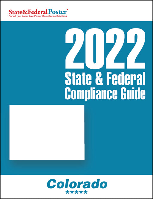 2020 Colorado State & Federal Compliance Guide - State and Federal Poster