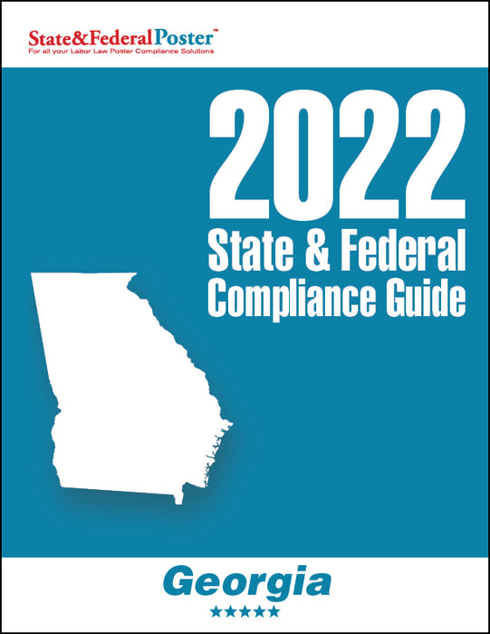 2020 Georgia State & Federal Compliance Guide - State and Federal Poster
