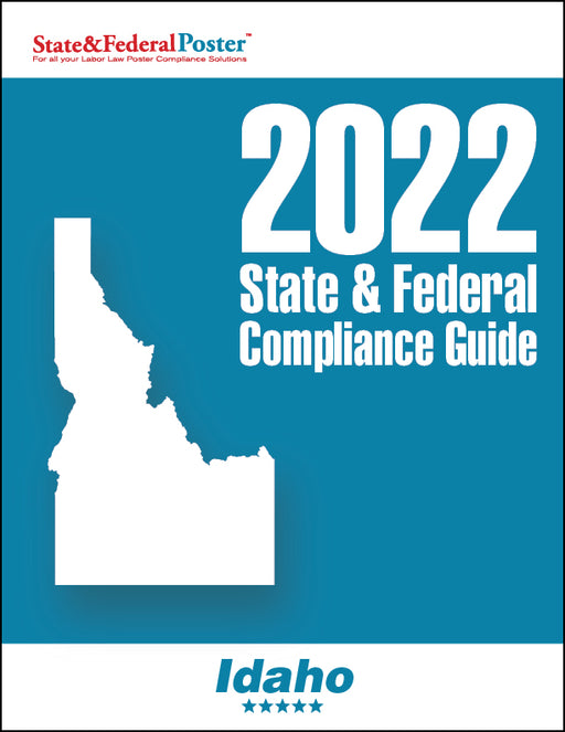 2020 Idaho State & Federal Compliance Guide - State and Federal Poster