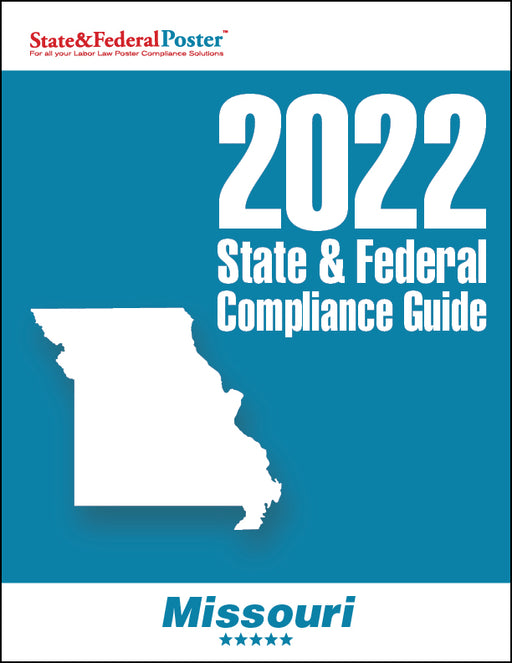 2020 Missouri State & Federal Compliance Guide - State and Federal Poster
