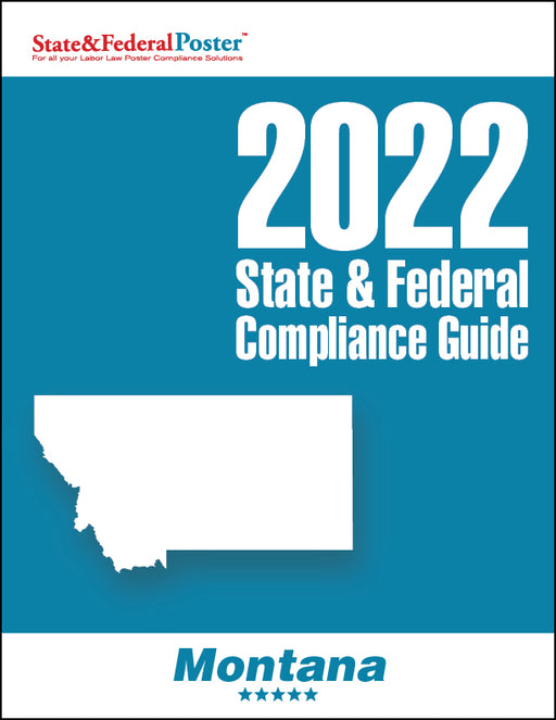 2020 Montana State & Federal Compliance Guide - State and Federal Poster