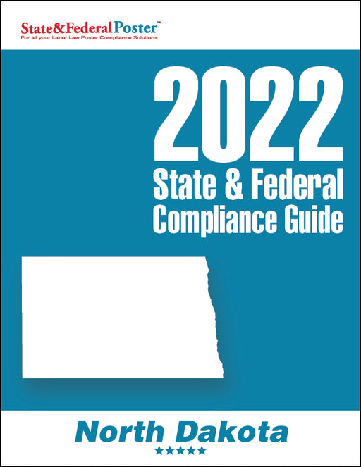 2020 North Dakota State & Federal Compliance Guide - State and Federal Poster