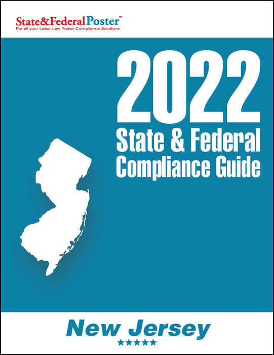 2020 New Jersey State & Federal Compliance Guide - State and Federal Poster