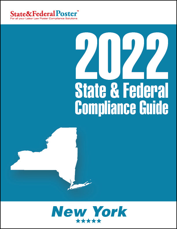 2020 New York State & Federal Compliance Guide - State and Federal Poster