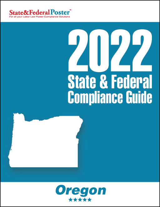 2020 Oregon State & Federal Compliance Guide - State and Federal Poster