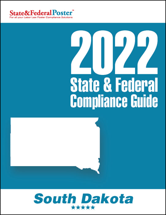 2020 South Dakota State & Federal Compliance Guide - State and Federal Poster