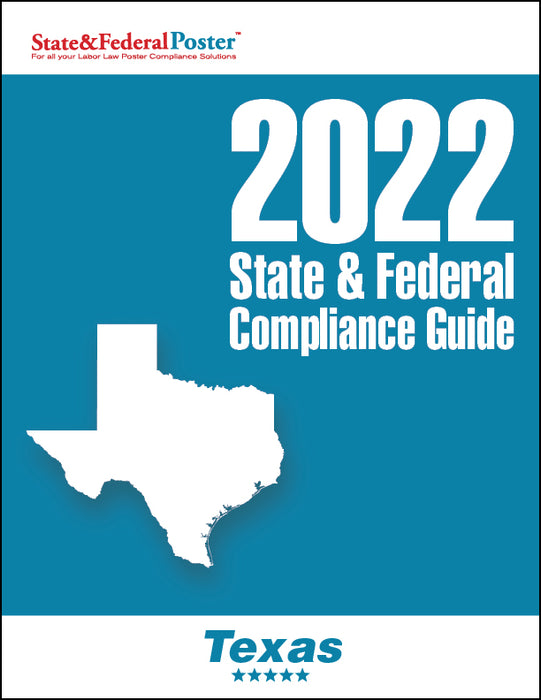 2020 Texas State & Federal Compliance Guide - State and Federal Poster