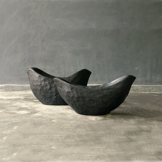 Teak Dove Boat Bowl