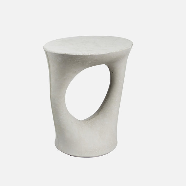 Kreten Side Table Short Grey