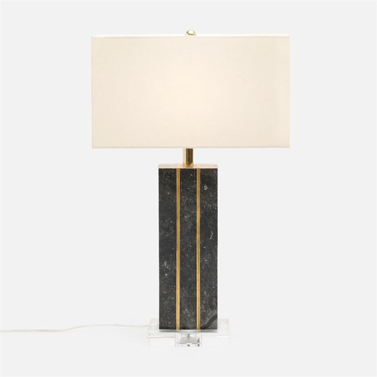 Adelaide Table Lamp in Marble
