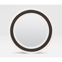"Made Goods Beryl 30"" Round Mirror"