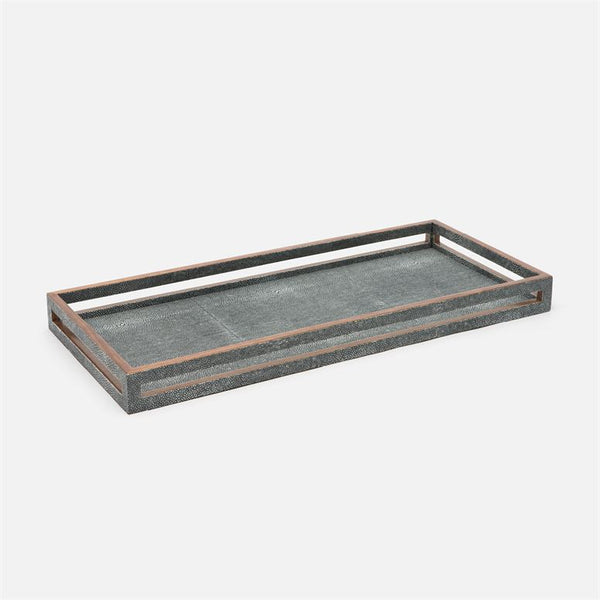 Radley Tray Set of 2 in Faux Shagreen