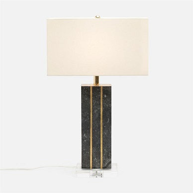 Made Goods Adelaide Table Lamp in Marble