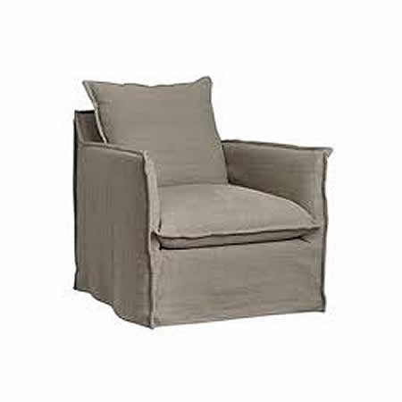 LEE Slipcover Lounge Chair C1297-01