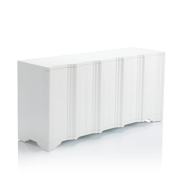 Jackson Buffet in White Enamel Finish