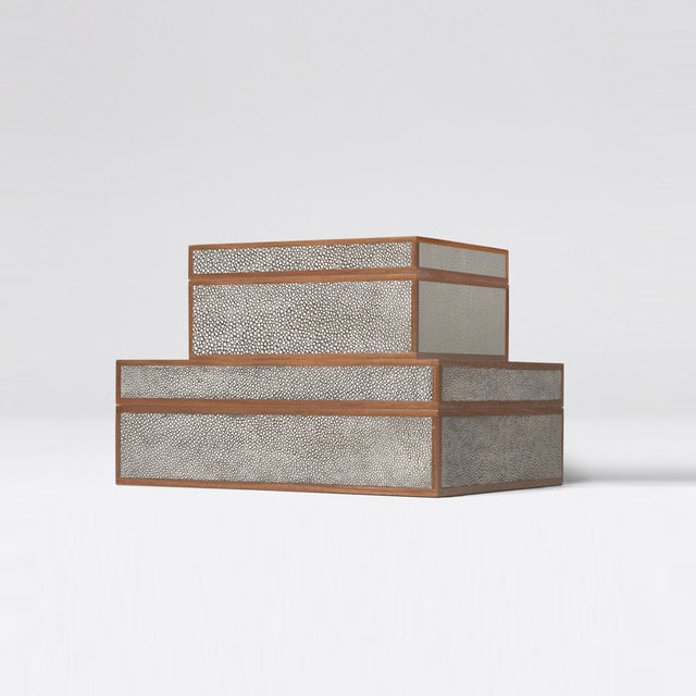Made Goods Cooper Faux Shagreen Box Set