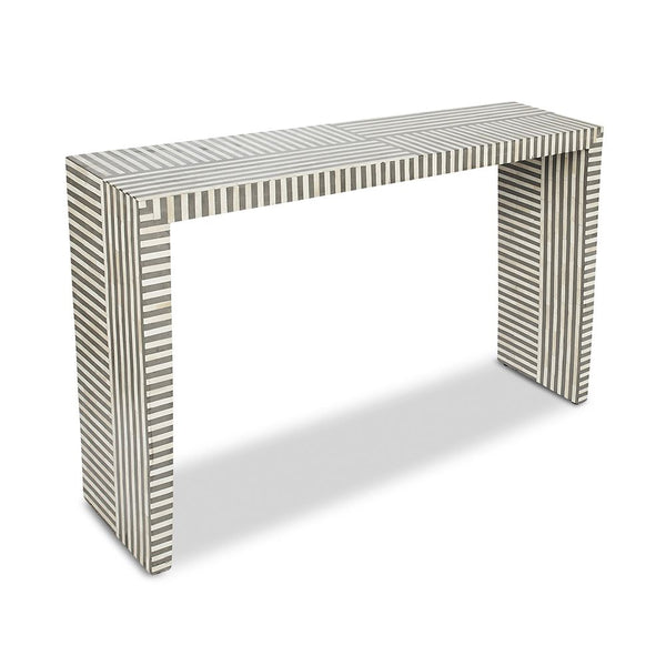 Felicity Natural Bone and Resin Console Table