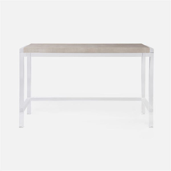 Cassian Acrylic Frame Console Table