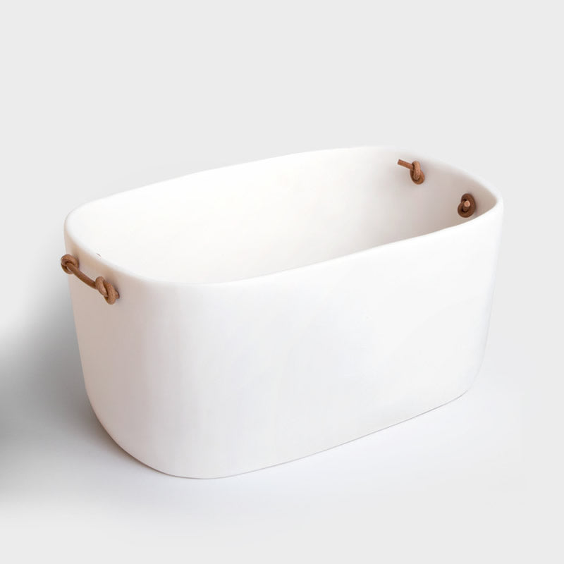 White Resin Champagne Party Bucket