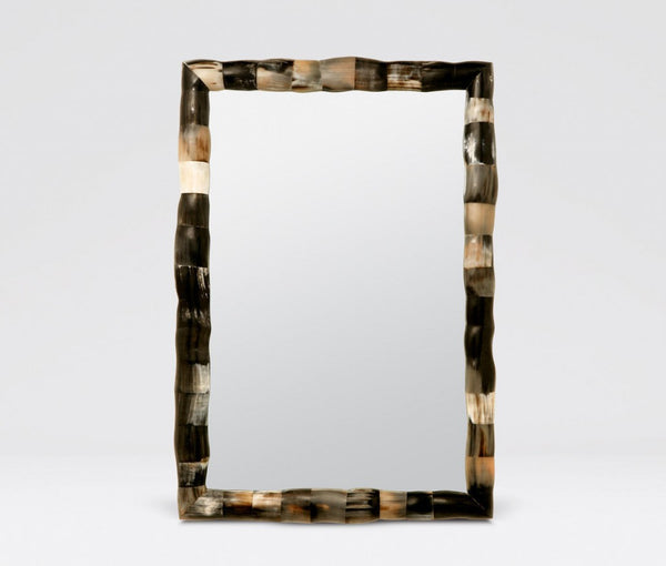 Made Goods Pierson Mirror with Organix Mixed Horn Frame