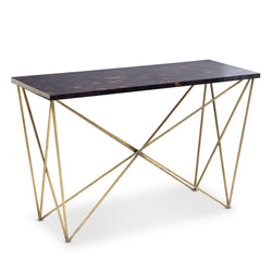 George Console with Iron Base