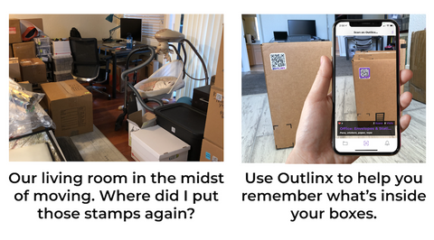 Use Outlinx To See Inside Moving Boxes