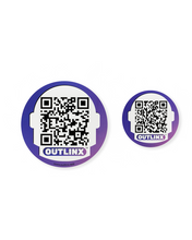 outlinx astro head qr smart stickers