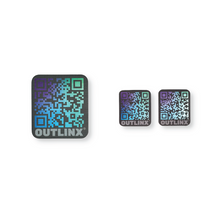 Outlinx Space Beetle QR Smart Sticker Pack, 10 stickers