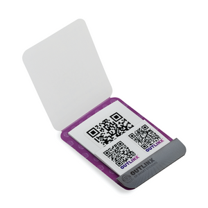 Outlinx The Original QR Smart Sticker Pack, 8 stickers