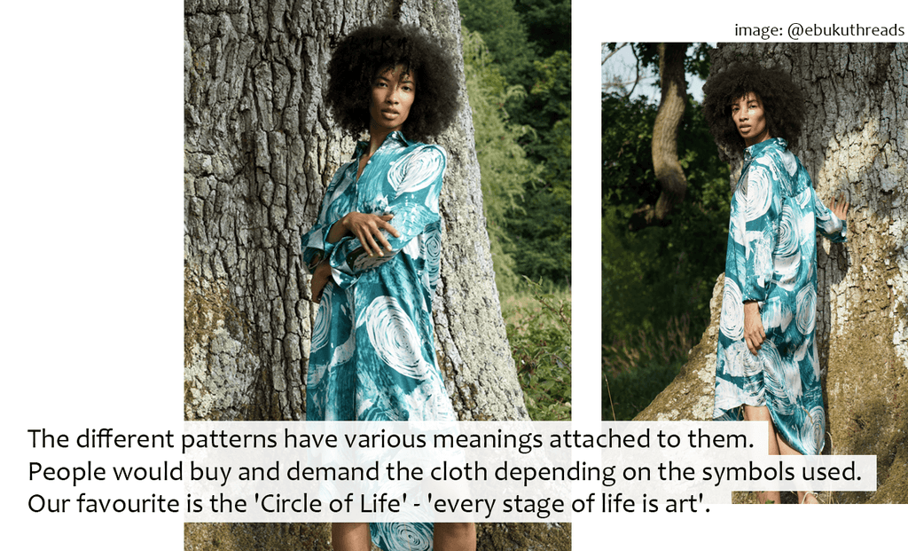 Lio Mara Interview With Ebuku Threads About Batik Dying And Meaning Behind The Circle Of Life Print