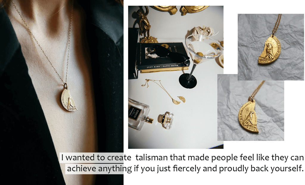 Lio Mara Interview With Sondr London Female Founder Leo And Lea Gold Necklace Talismans