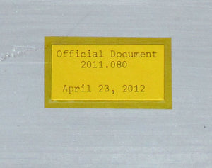 Space Program Official Document