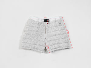 NIKECraft: Down Shorts (White)