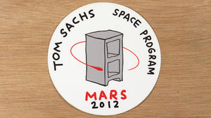 Space Program Sticker
