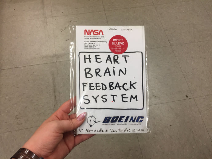 Heart Brain Feedback System (A Space Program DVD) JAPANESE IMPORT EDITION