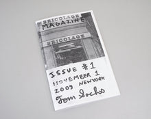 Load image into Gallery viewer, Bricolage Magazine #1