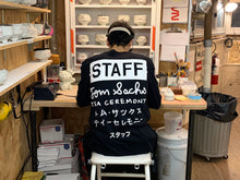 Load image into Gallery viewer, Tea Ceremony Staff Long Sleeve T-Shirt (Printed Matter Edition)
