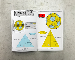 How to Build a Geodesic Dome Zine